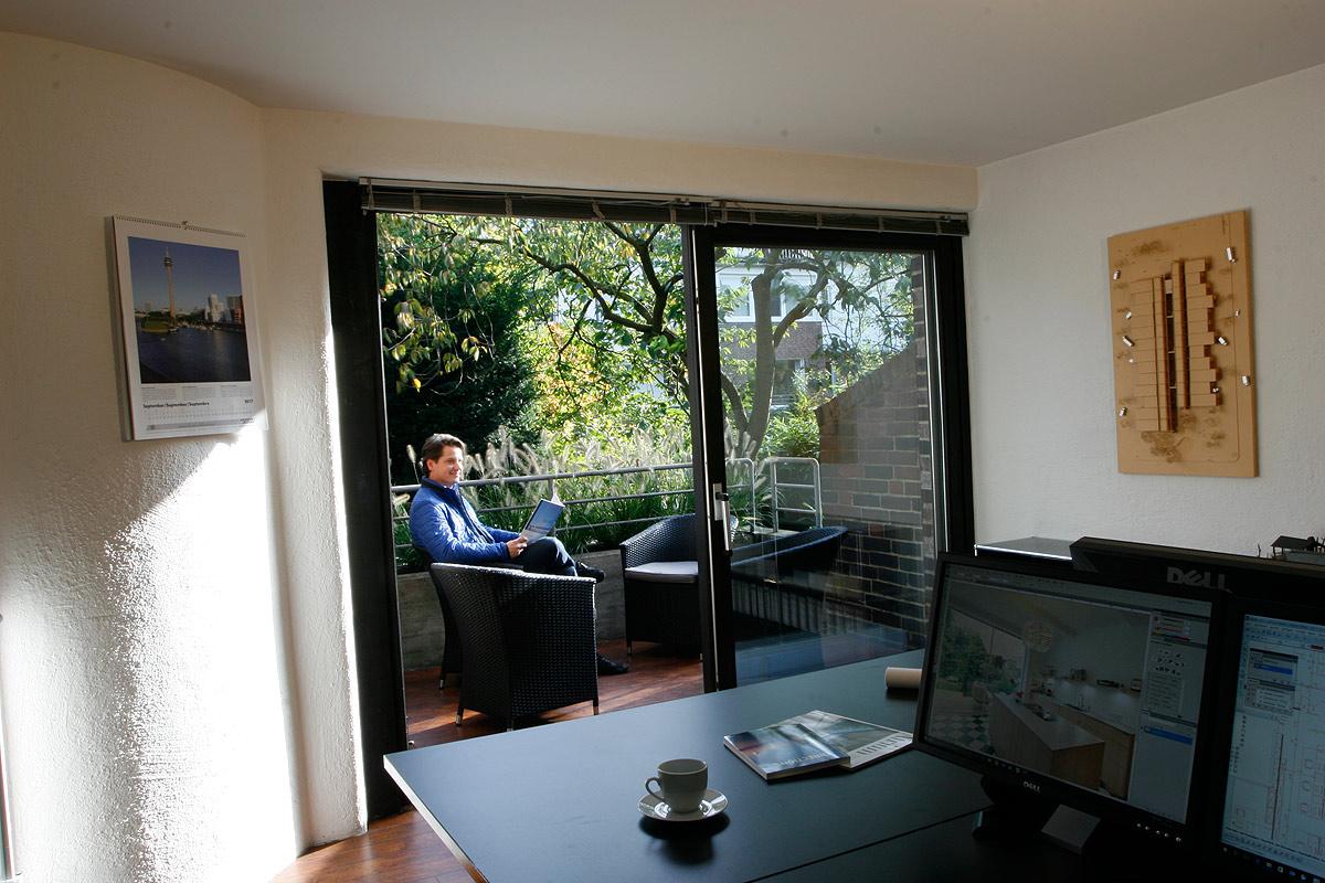 Büro Terrasse